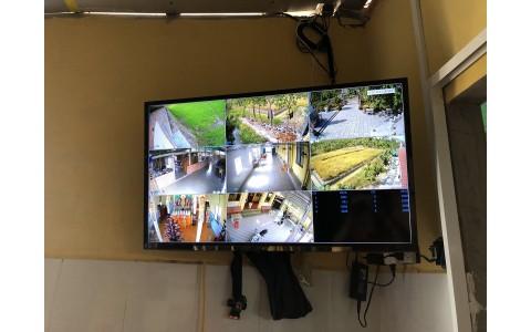 Hệ thống camera an ninh Chùa Huyện Long Phú, Sóc Trăng