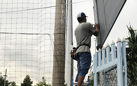 Hệ thống camera Sân bóng TP. Sóc Trăng