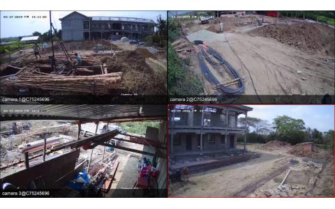 Hệ thống camera Hikvision công trình trường học