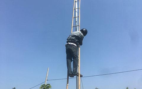 Hệ thống camera Cty xây dựng tại Khu đô thị 5A