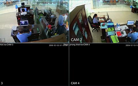 Hệ thống camera văn phòng tại Khu đô thị 5A